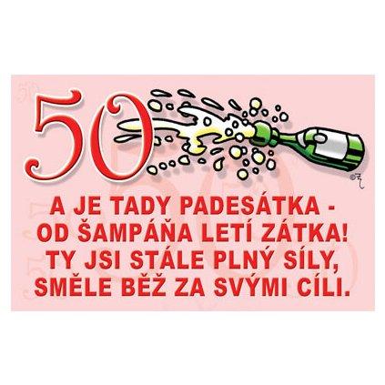 Vtipné želanie - 50 rokov