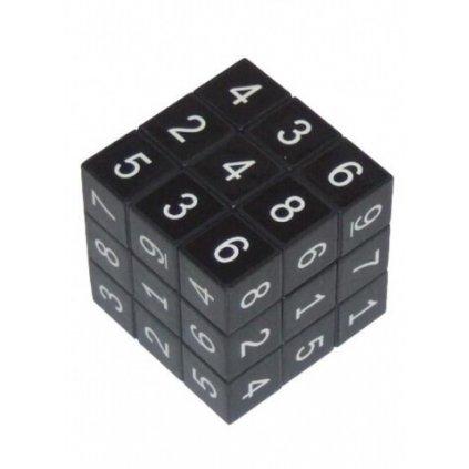 Kocka Sudoku, čierna