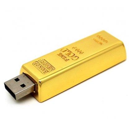 USB flash disk Zlatá tehla 32 GB