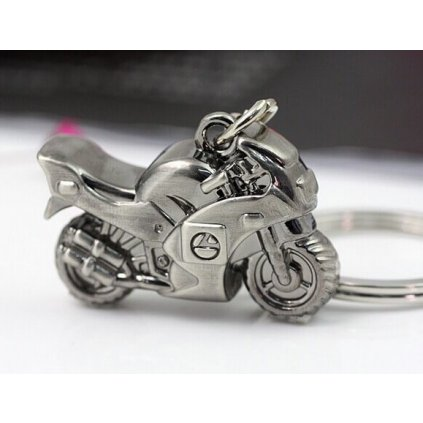 Prívesok na kľúče motorka