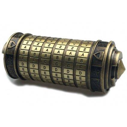 Cryptex Leonardo da Vinci kovový