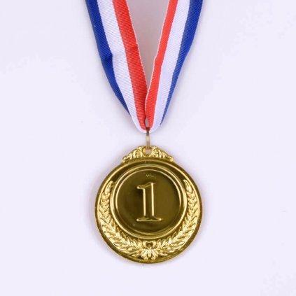 Kovová medaila – 1. miesto