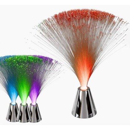 LED Lampička - vlákna