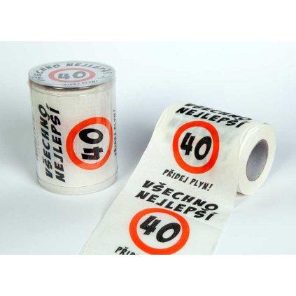 Toaletný papier 40