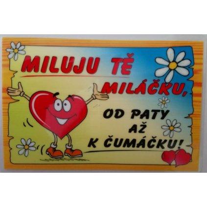 Vtipná kartička – Milujem ťa