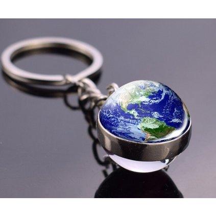 Přívěšek mini planeta Země