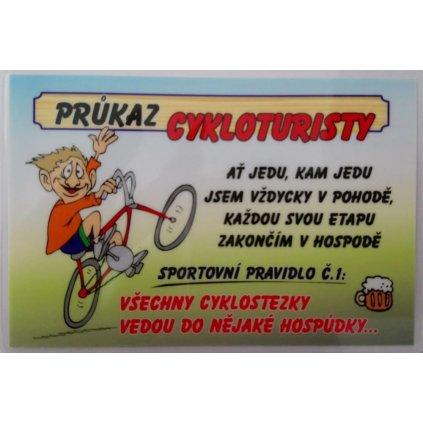 Průkaz - Cykloturista