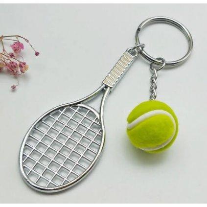 Přívěšek na klíče tenis