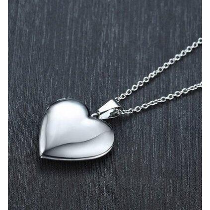 Otevírací medailon srdce