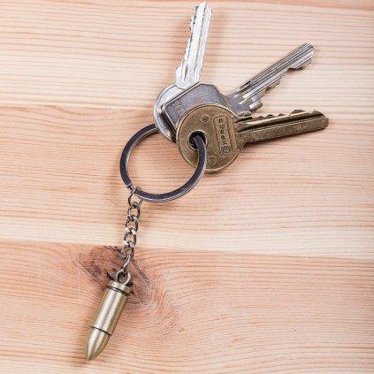 Přívěšek na klíče puška