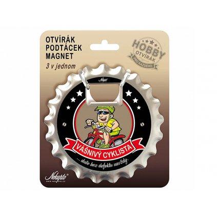 Otvárač 3v1 – cyklista