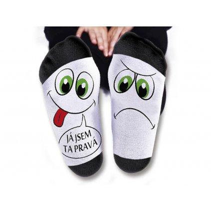 Dámske ponožky – Ja som tá pravá