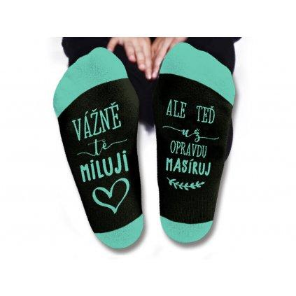 Dámske ponožky – Vážne ťa milujem