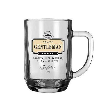 Půllitr pravý gentleman