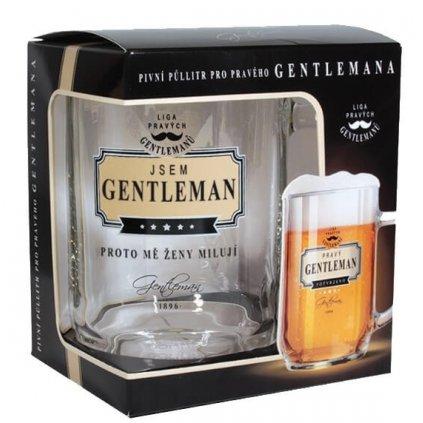 Půllitr jsem gentleman
