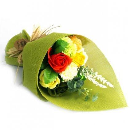 Mydlová kytica, zelená