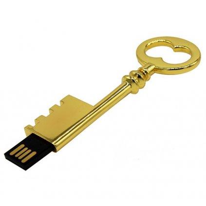 USB flash disk Klíč zlatý 32 GB