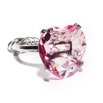 Kľúčenka – ružové srdce