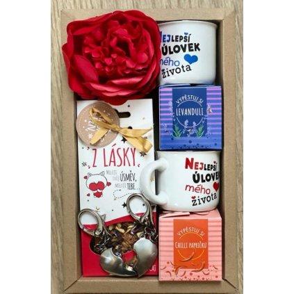 Darčekový balíček – Valentín pre dvoch