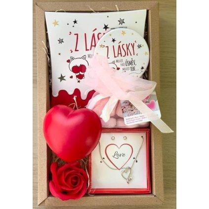 Valentínsky balíček z lásky