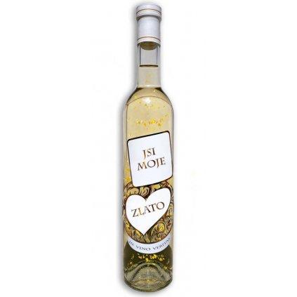 Biele víno so zlatom – Si moje zlato