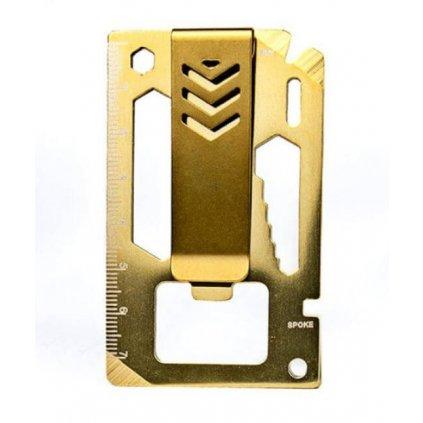 Multifunkčný klip na bankovky 10v1