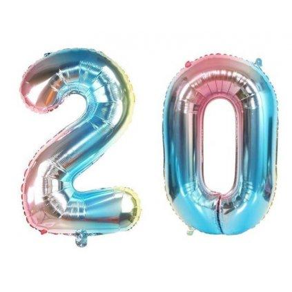 Narodeninové balóniky 20