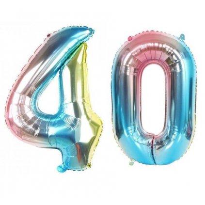 Narodeninové balóniky 40