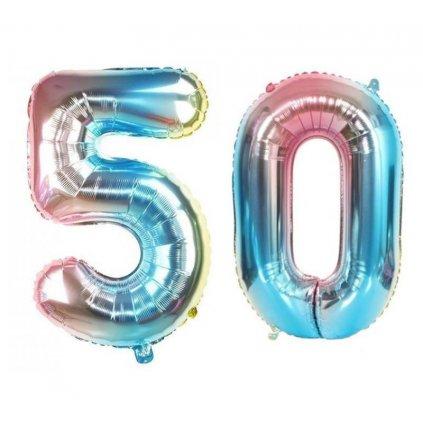 Narozeninové balónky 50