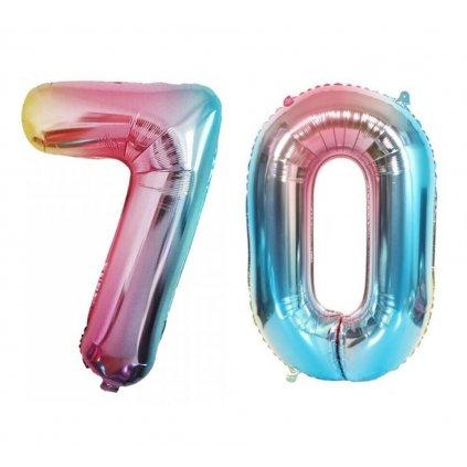 Narozeninové balónky 70