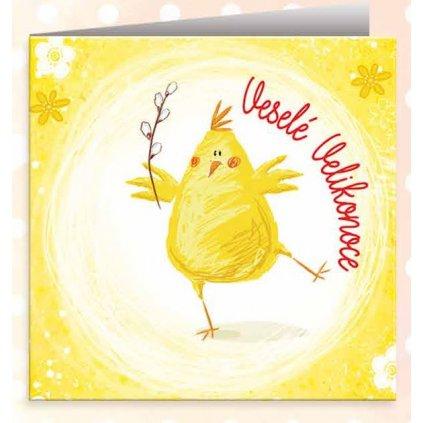 Velikonoční přání Jaro začalo, sluníčko svítí..