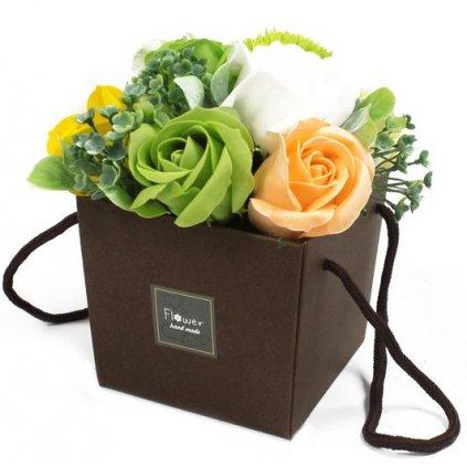 Mydlové kvety, jarné, darčekový box