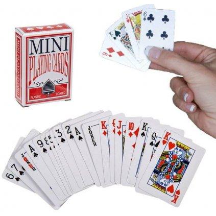 Mini poker karty