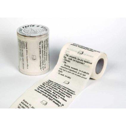 Toaletný papier s vtipmi