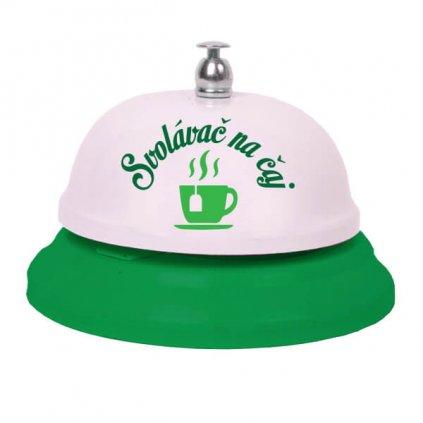 Zvoneček svolávač na čaj