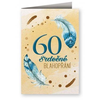Srdečné blahopřání 60