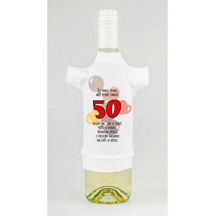 Triko na lahev - Žij podle svého 50