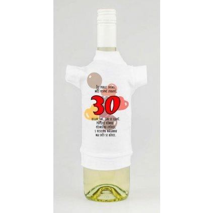 Triko na lahev - Žij podle svého 30