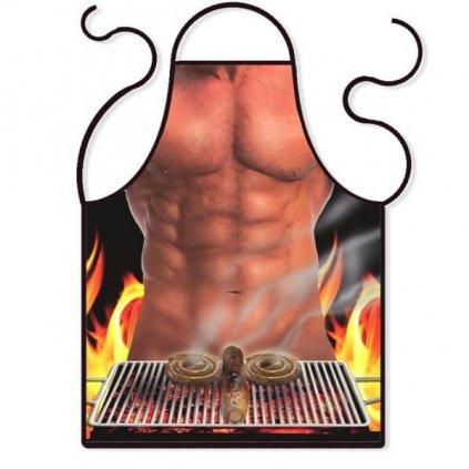 Kuchyňská zástěra- Gril
