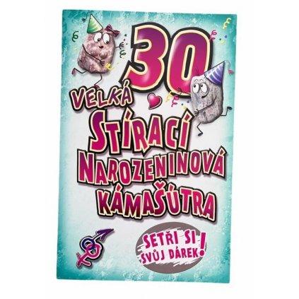 Stírací přání- narozeninová kámašútra 30let