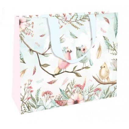 Darčeková taška, stredná, Vtáci