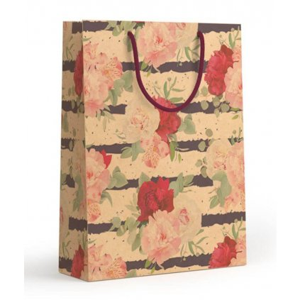 Dárková taška malá Květy