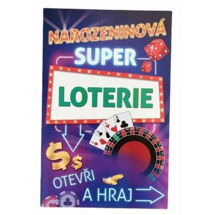 Stírací přání - narozeninová super loterie
