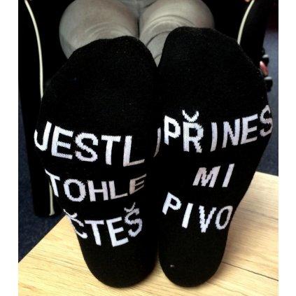 Ponožky - Jestli tohle čteš
