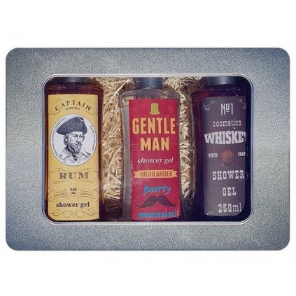 Dárkový plechový box pro muže