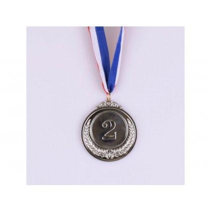 Kovová medaile - 2. místo