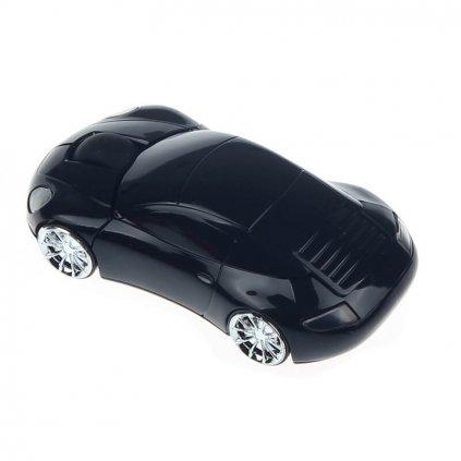 Optická myš, auto, čierna
