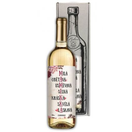 Darčekové víno pre mamičku