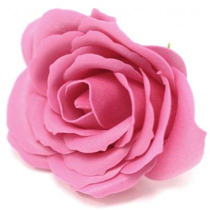 Mýdlový květ růže velký růžový