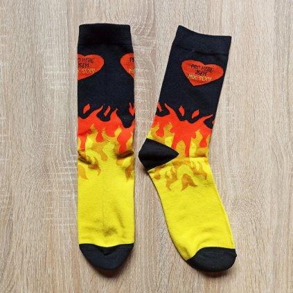 Veselé ponožky Pro nebe dámské